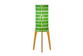 Phoebe a3 lamp green homelines