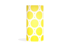Phoebe a3 lamp yellow circles